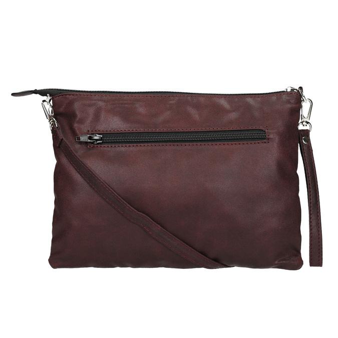 Kabelka v štýle listovej kabelky bata, fialová, 969-5631 - 26