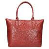 Dámska kožená kabelka červená bata, červená, 966-5201 - 26