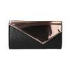 Dámské listová kabelka s asymetrickou klopou bata, červená, 961-5673 - 26