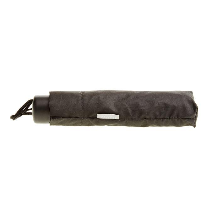 Čierny skladací dáždnik bata, čierna, 909-6600 - 16
