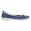 Ležérne kožené baleríny weinbrenner, modrá, 526-9503 - 15