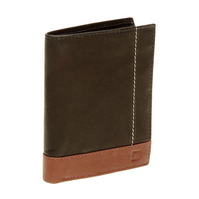 Pánská kožená peňaženka bata, čierna, 944-6150 - 13