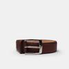Hnedý pánsky kožený opasok bata, hnedá, 954-3170 - 13