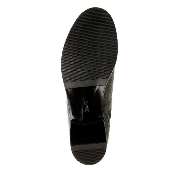 Dámske kožené Chelsea Boots bata, čierna, 594-6267 - 26