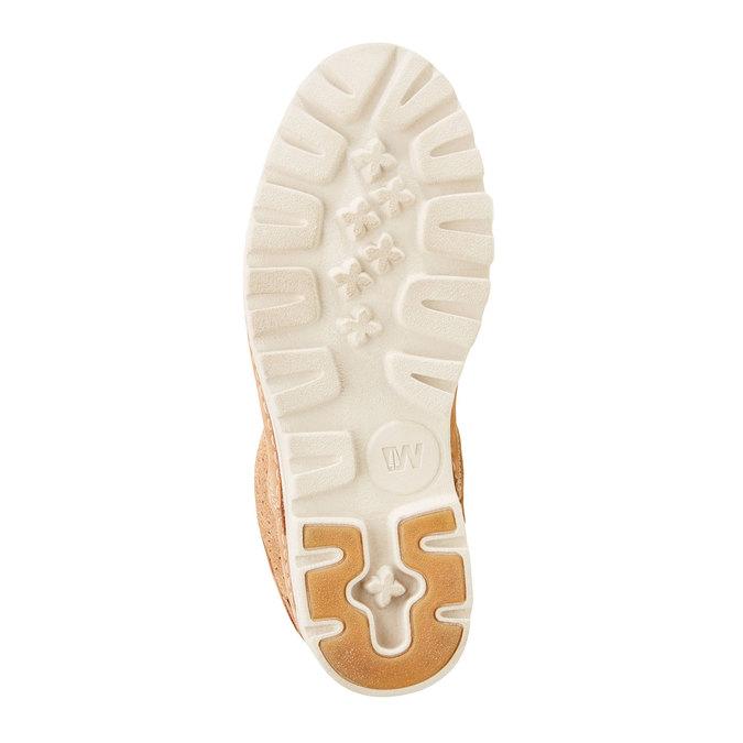 Kožené členkové topánky weinbrenner, hnedá, 596-4121 - 26