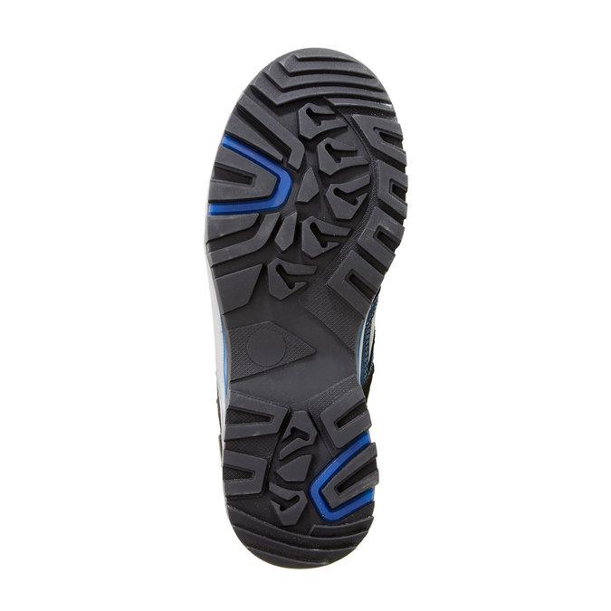 Kožené Outdoor topánky, modrá, 543-9208 - 26