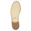 Dámske kožené poltopánky so zdobením bata, béžová, 524-8482 - 26