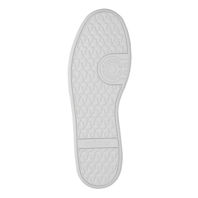 Pánske kožené tenisky adidas, čierna, 803-6132 - 26