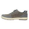Pánske kožené tenisky bata, šedá, 826-2649 - 26