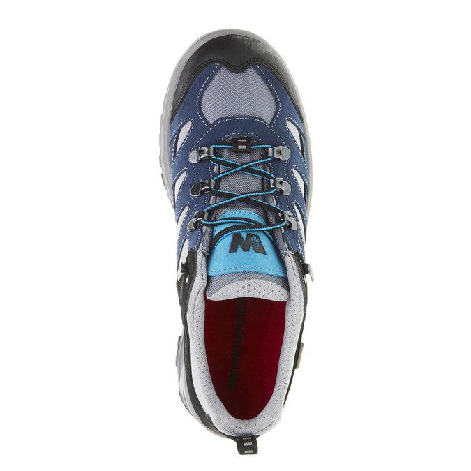 Kožené Outdoor topánky, modrá, 543-9208 - 19