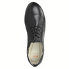 Dámske kožené poltopánky flexible, čierna, 524-6565 - 19
