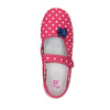 Detská domáca obuv s remienkom cez priehlavok mini-b, ružová, 379-5209 - 19