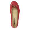 Ležérne kožené baleríny weinbrenner, červená, 526-5503 - 19