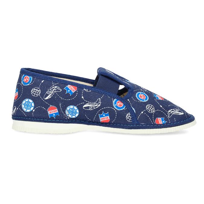 Detské papuče bata, modrá, 379-9012 - 19