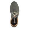 Ležérne kožené poltopánky weinbrenner, šedá, 846-2436 - 19