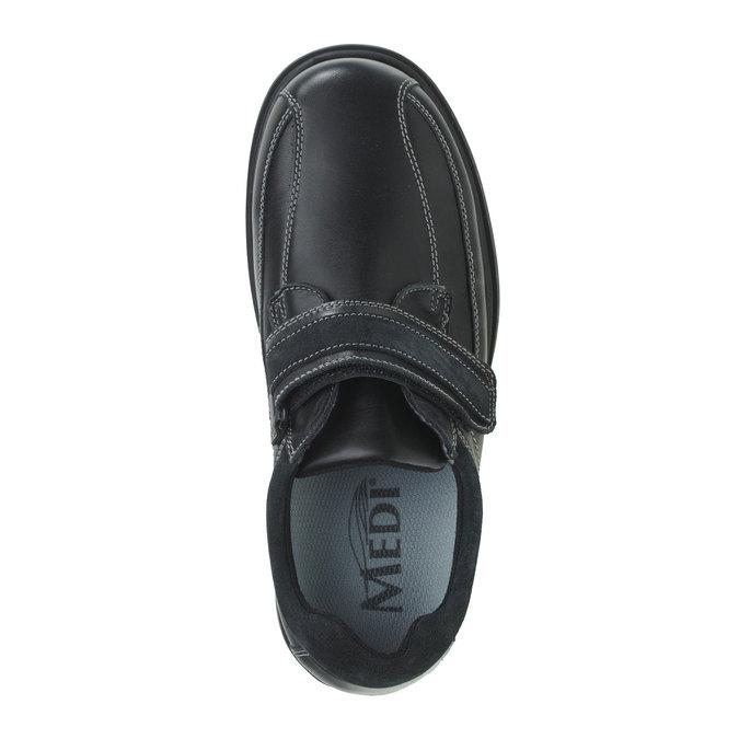 Tenisky na suchý zips bata, čierna, 834-6001 - 19