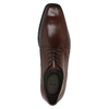 Hnedé kožené poltopánky bata, hnedá, 824-4723 - 19