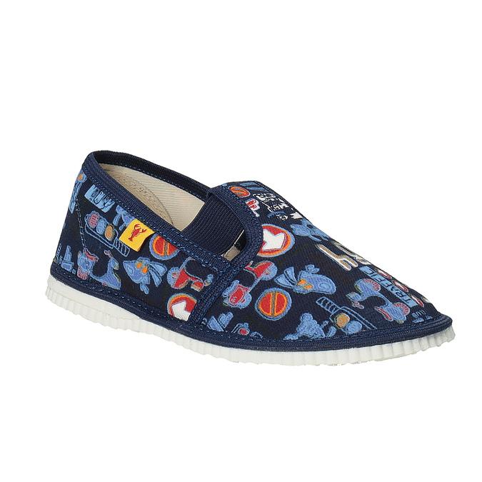 Detská domáca obuv bata, modrá, 279-9104 - 13