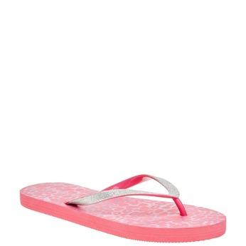 Dámske ružové žabky pata-pata, ružová, 581-5604 - 13