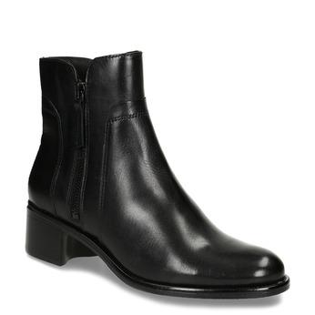 Dámska členková obuv bata, čierna, 694-6600 - 13