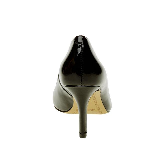 Dámske lodičky z lakovanej kože bata, čierna, 728-6953 - 17