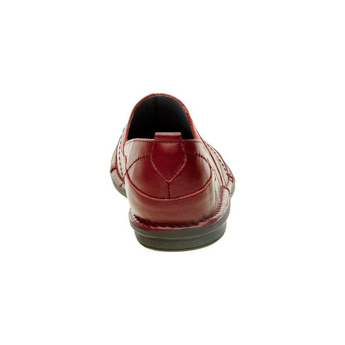 5565100 bata, červená, 556-5100 - 17