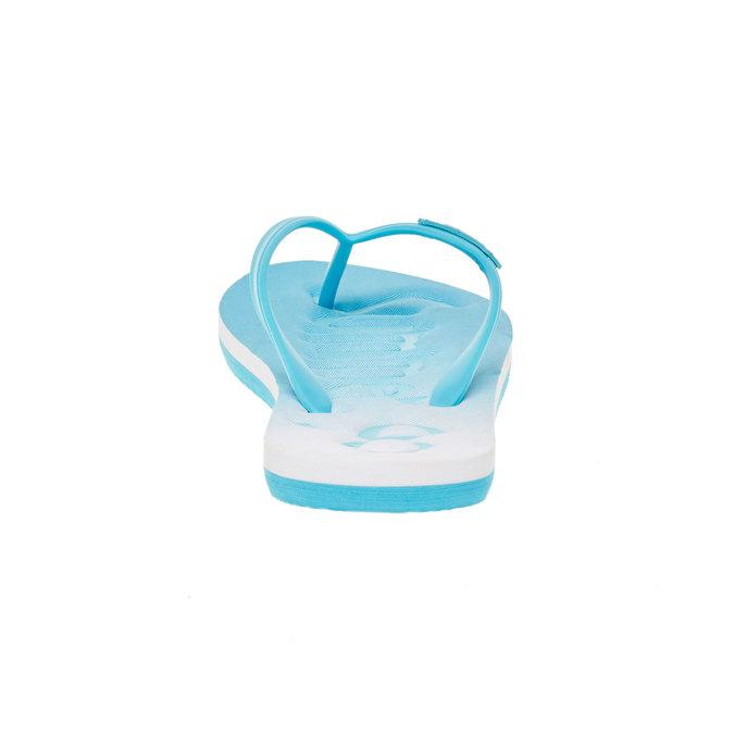 Dámske žabky pata-pata, modrá, 581-9601 - 17