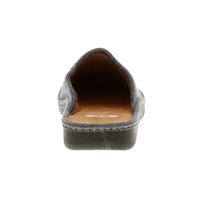 Pánska domáca obuv bata, šedá, 879-2165 - 17