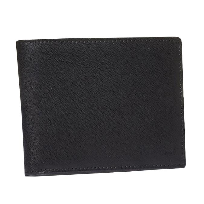 Pánská kožená peňaženka bata, čierna, 944-6124 - 13