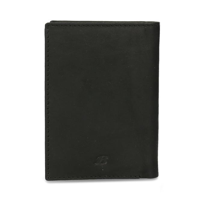 Kožené púzdro na karty bata, čierna, 944-6158 - 26