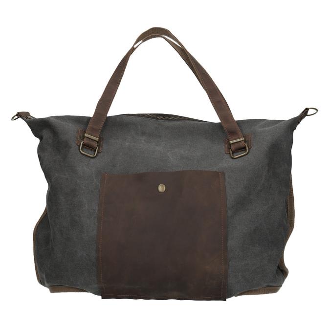 Veľká taška s popruhom weinbrenner, šedá, 969-2620 - 26