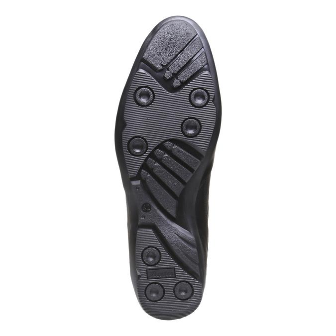 Šnurovacia obuv Giorgio bata, čierna, 824-6988 - 18