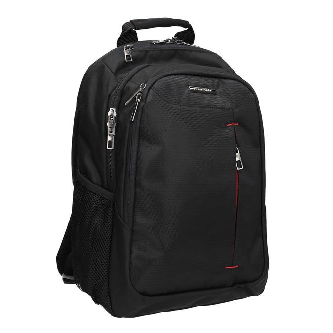 Kvalitný batoh na notebook samsonite, čierna, 969-2395 - 13