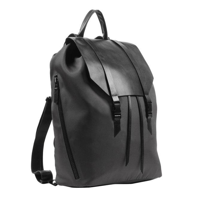 Čierny batoh royal-republiq, čierna, 964-6208 - 13