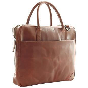 Kožená taška s popruhom royal-republiq, hnedá, 964-4199 - 13