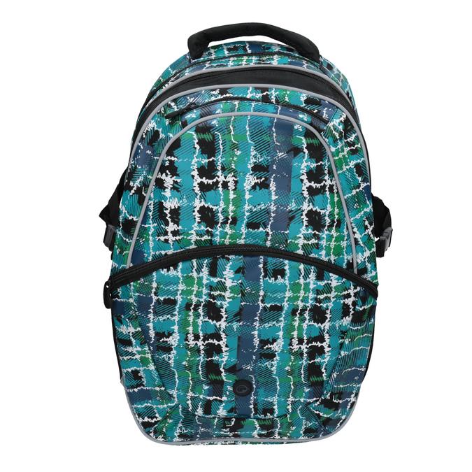 Detský školský batoh bagmaster, zelená, modrá, 969-9602 - 15