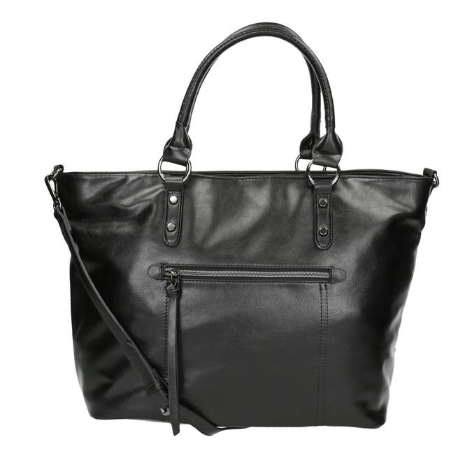 Čierna dámska kabelka bata, čierna, 961-6857 - 26