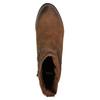 Dámska členková obuv bata, hnedá, 796-4600 - 19