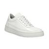 Biele kožené tenisky bata, biela, 528-1632 - 13