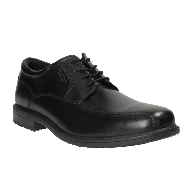 Čierne kožené poltopánky rockport, čierna, 824-6106 - 13