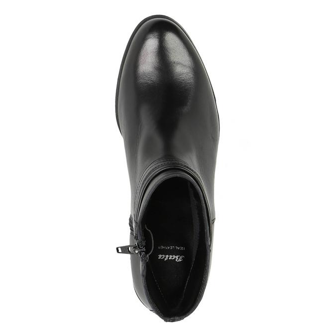Dámska členková obuv bata, čierna, 594-6614 - 19