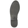 Kožená členková obuv ve Western štýle bata, hnedá, 594-4611 - 19