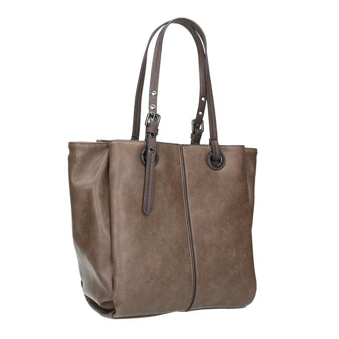 Hnedá dámska kabelka bata, hnedá, 961-2123 - 13