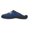 Dámska domáca obuv s výšivkou bata, modrá, 579-9603 - 26