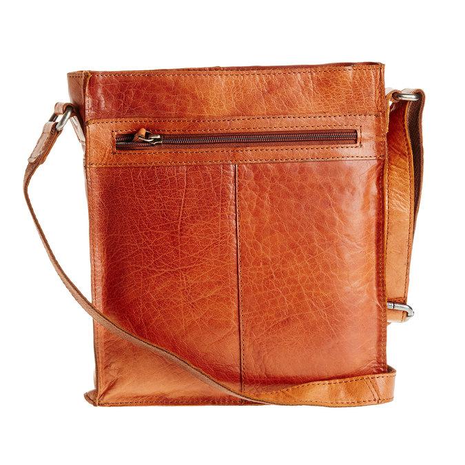 Pánska kožená  Crossbody taška bata, hnedá, 964-3141 - 26