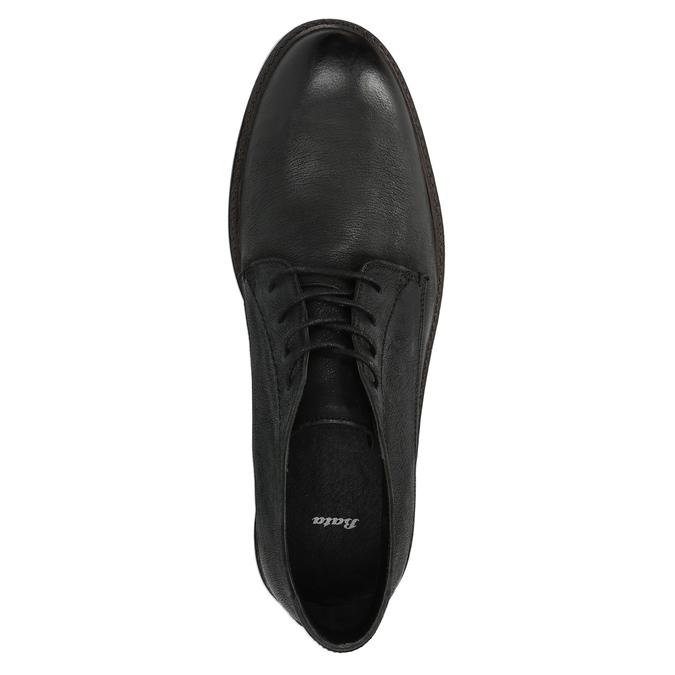 Kožená členková obuv pánska bata, čierna, 826-6642 - 19