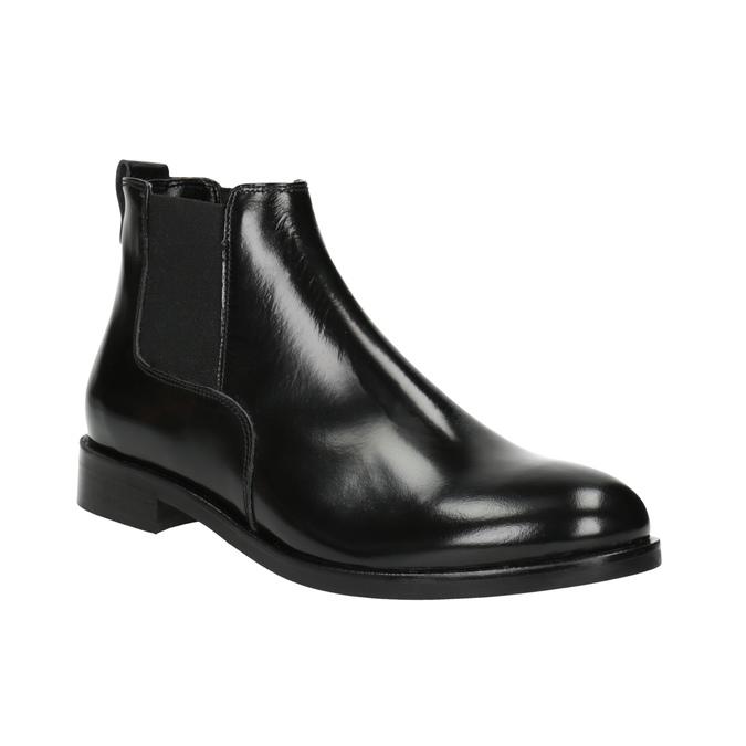 Dámske kožené Chelsea boots bata, čierna, 594-6902 - 13