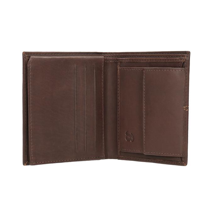 Prešívaná pánska peňaženka bata, hnedá, 944-3176 - 15