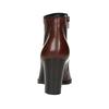 Dámska členková obuv na podpätku gabor, hnedá, 794-3019 - 17