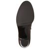 Dámska členková obuv na podpätku gabor, hnedá, 794-3019 - 26